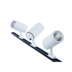 LED THREE CIRCUIT TRI-COLOUR 25W TRACK LIGHT WHITE