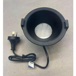 DESIGN 10W LED BLACK DOWNLIGHT